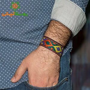 دستبند سوزندوزی زابد