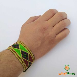 دستبند سوزندوزی بلوچی بامیگ
