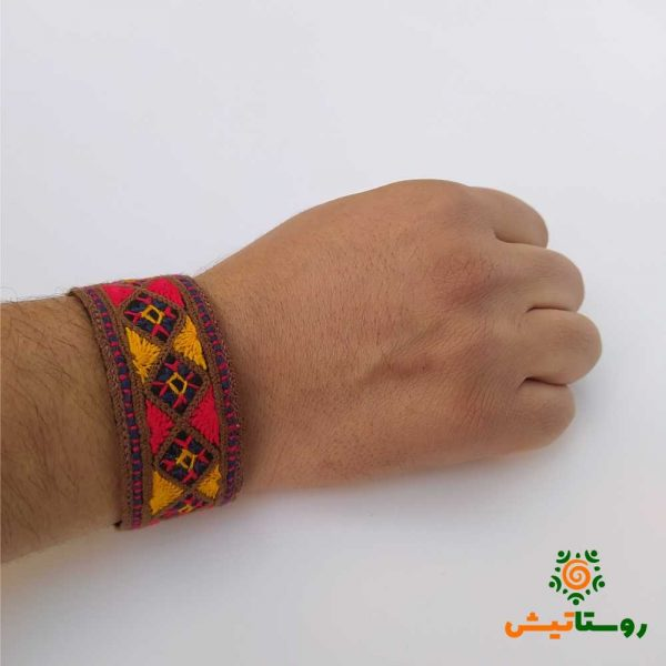 دستبند سوزندوزی بانوک