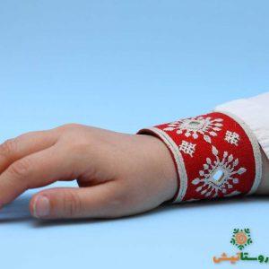دستبند سوزندوزی هیران