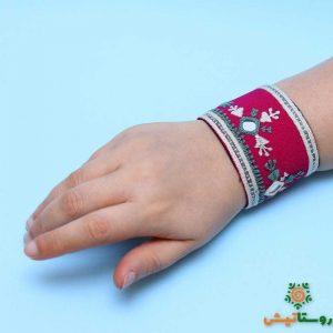 دستبند سوزندوزی هیری