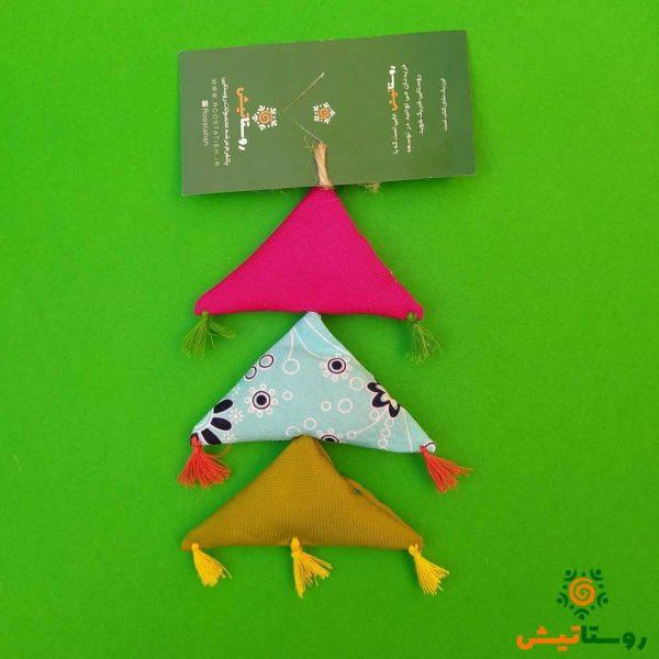 آویز خیر و برکت مثلثی معطر 2