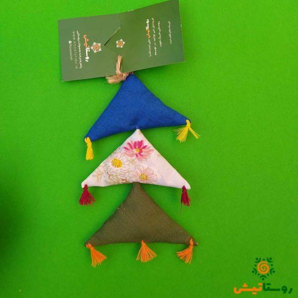 آویز خیر و برکت مثلثی معطر 3