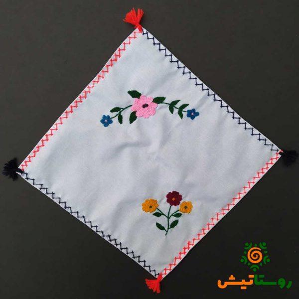دستمال گلدوزی بیبی سارمرانی