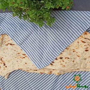سفره نان دستبافت راه راه پارچه ای