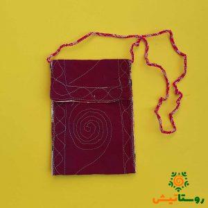 کیف مدارک پارچه ای دستبافت قلعه قافه بالا