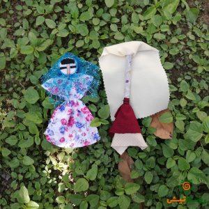 عروسک جفت زن و مرد ماهشهر 2