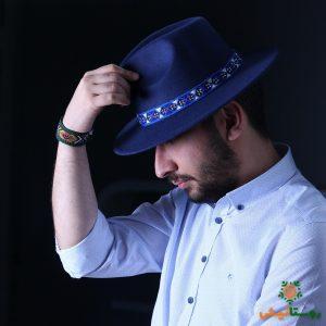 کلاه شاپو سوزندوزی مردانه 3