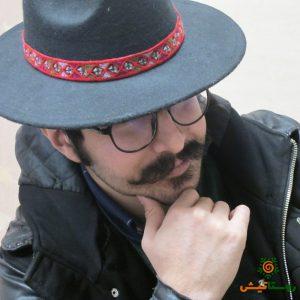 کلاه شاپو سوزندوزی مرددانه 5