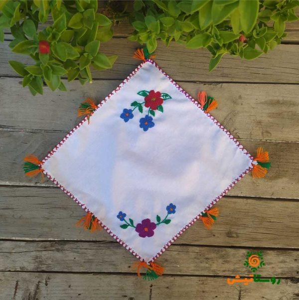 دستمال گلدوزی پارچه ای 26