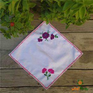 دستمال گلدوزی پارچه ای 28