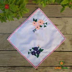 دستمال گلدوزی پارچه ای 36