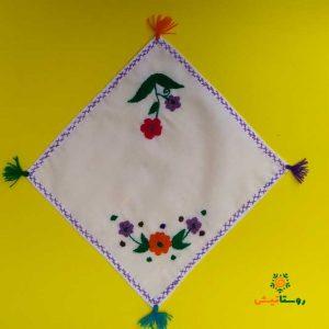 دستمال گلدوزی 24