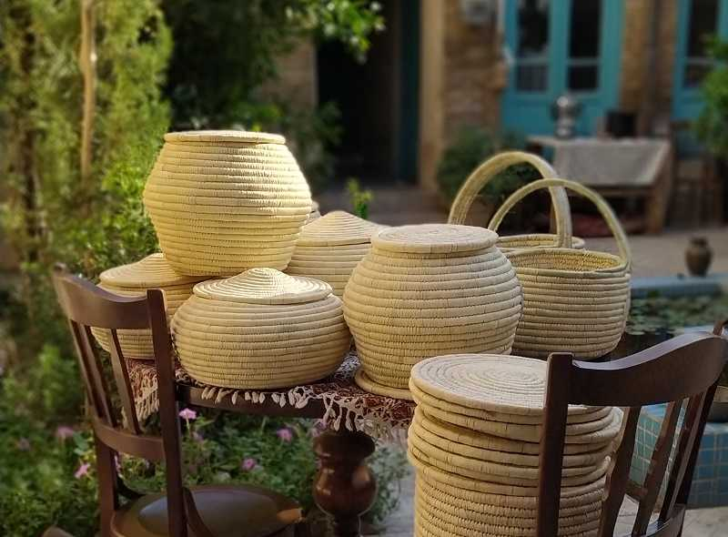 کپو بافی هنر زیبای خوزستان که به عنوان ظرف برنج ، حبوبات ، بسته بندی زیست محیطی هدیه و ... قابل استفاده است