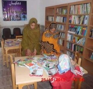 پروژه کتابخانه فاطمه های روستای دهکهان
