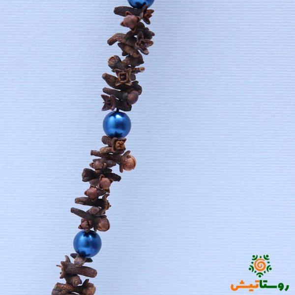 گردنبند میخک آبی