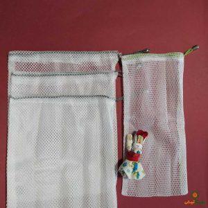 کیسه توری خرید سفید