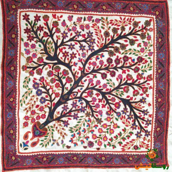 رومیزی پتهدوزی درخت زندگی