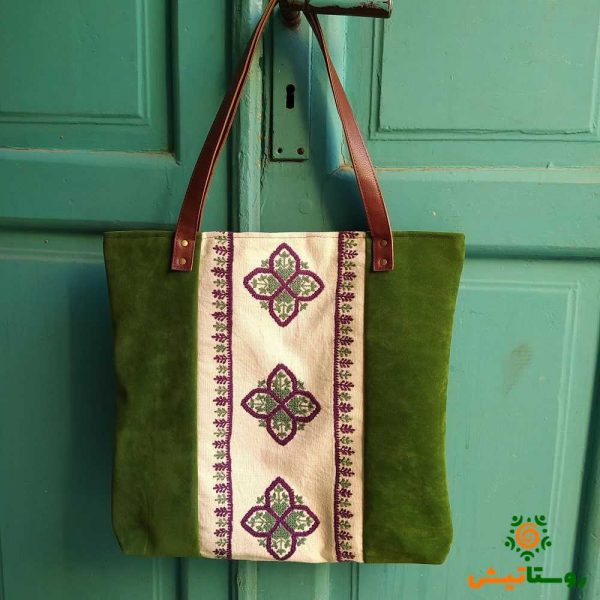 کیف دوشی سوزندوزی بانوک