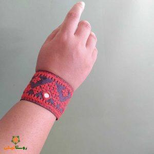 دستبند سوزندوزی بلوچی تاکرِچ