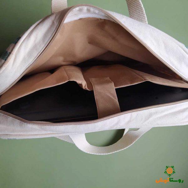 کیف لپتاپ دستبافت دستان پرتوان 3
