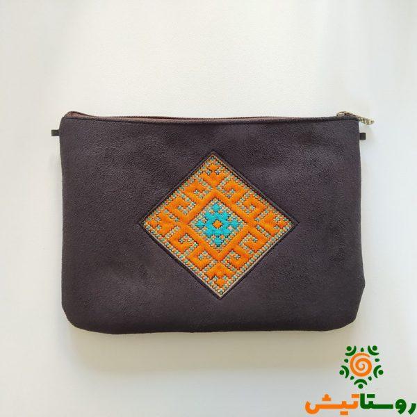 کیف دستی سوزندوزی پرکار 15