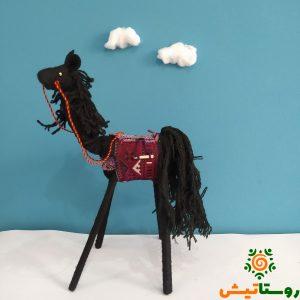 عروسک اسب دست ساز تاجمیر آتلان 6