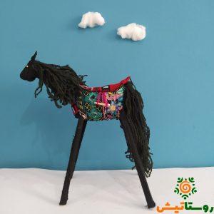 عروسک اسب دست ساز تاجمیر آتلان 9
