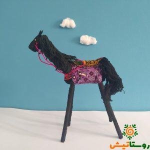 عروسک اسب دست ساز تاجمیر آتلان 10