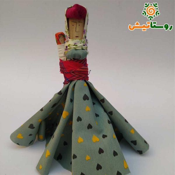 عروسک سرخدار سخدال روستای سیاه رودبار