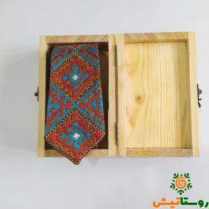 کراوات سوزندوزی یا بلوچی دوزی (9)