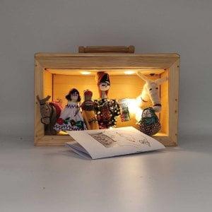 جعبه نمایشی عروسک روستاتیش