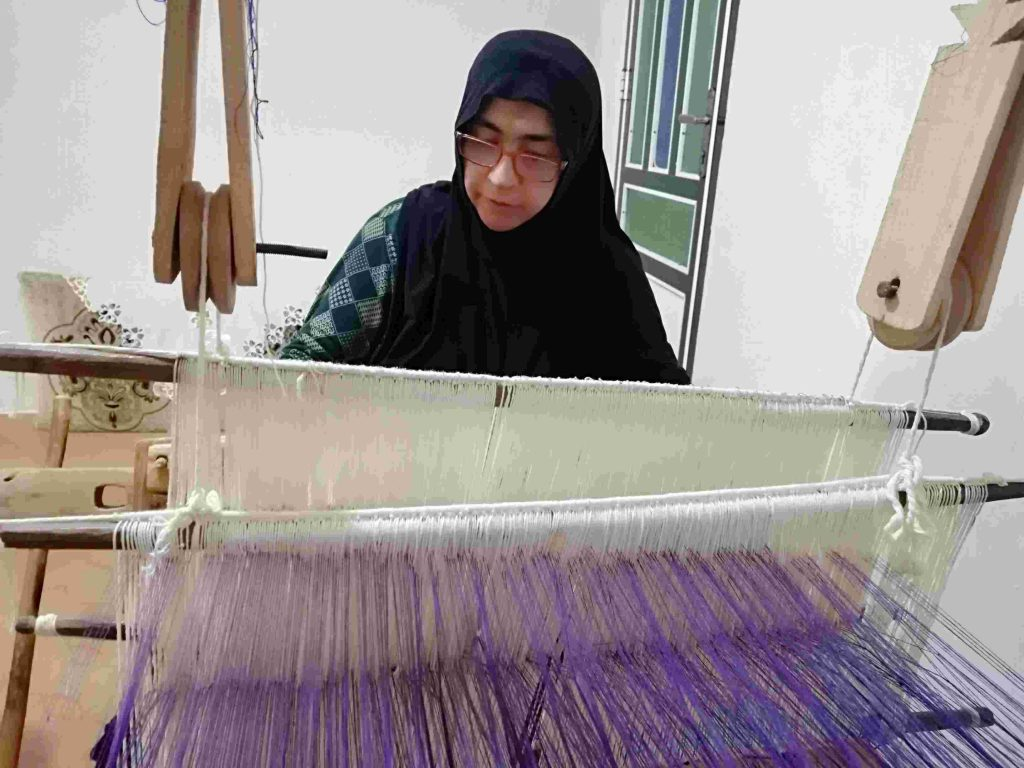 حوله بافی سنتی ایران
