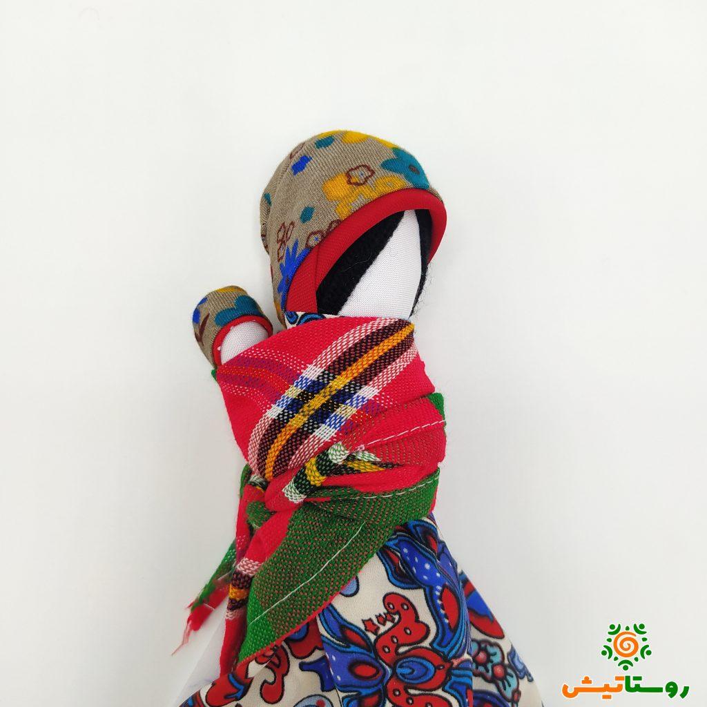عروسک بومی بوک عروسک بی چهره روستاتیش