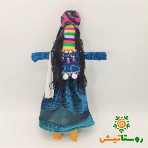 عروسک بومي دست ساز بوئي مو مشکي پلدختر