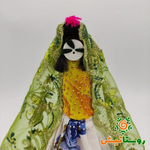 عروسک دست ساز بومی دوتوک سیاه چشمون 17