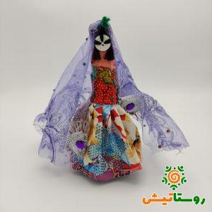 عروسک دست ساز بومی دوتوک سیاه چشمون 18
