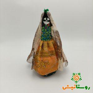 عروسک دست ساز بومی دوتوک سیاه چشمون 19