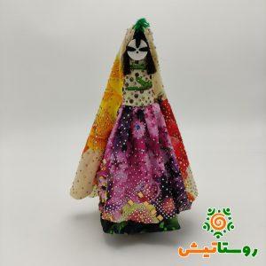 عروسک دست ساز بومی دوتوک سیاه چشمون 20