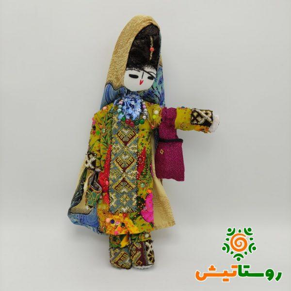 عروسک بومی دست ساز تاجمیر بزرگ 29