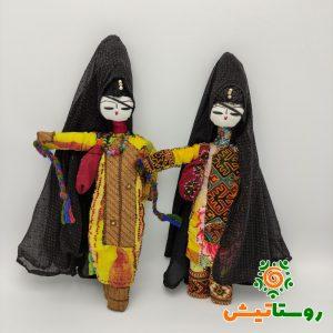 عروسک بومی دست ساز تاجمیر بزرگ 25