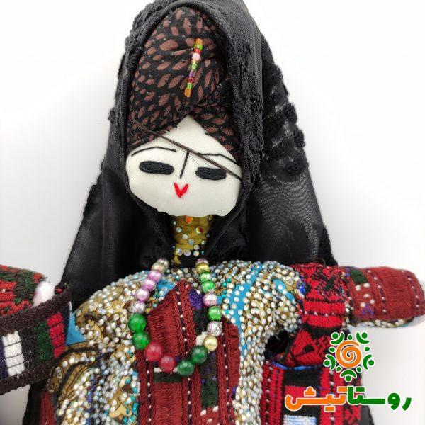 عروسک بومی دست ساز تاجمیر بزرگ 28