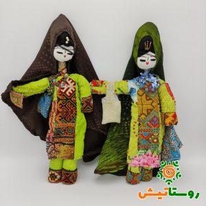 عروسک بومی دست ساز تاجمیر بزرگ 24
