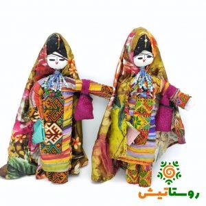عروسک بومی دست ساز تاجمیر بزرگ 26