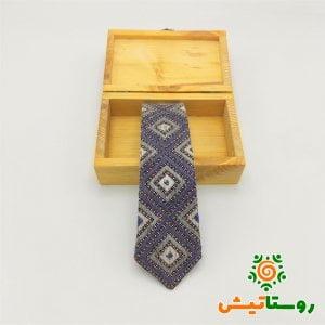 کراوات سوزن دوزي دست دوز طوسی