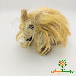 عروسک دست ساز گوسفند کرم شاوره
